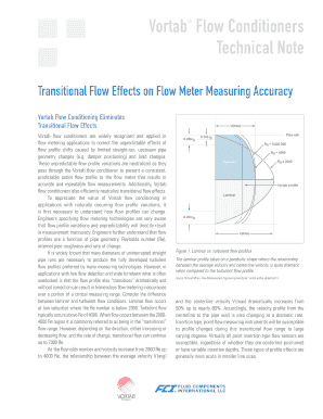 Vortab Flow Conditioners Technical Note
