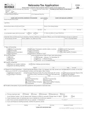 2014-2017 Form NE DoR 20 Fill Online, Printable, Fillable, Blank ...