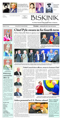 Chief Pyle sworn in for fourth term