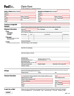 Fillable Ups Claims Form - Fill Online, Printable, Fillable, Blank ...