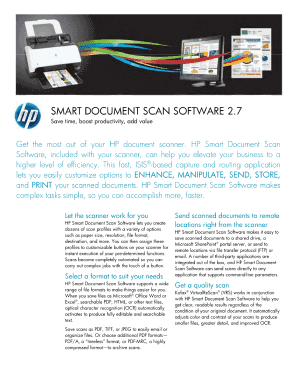 Smart Document Scan Software 27 - Fill Online, Printable, Fillable
