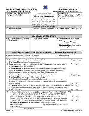 Wotc Form Icf Arkansas Spanish Fill Online Printable
