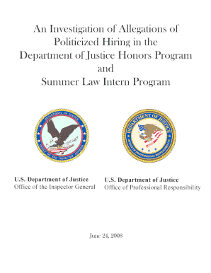 department of justice honors program essay The department of security studies and applicants for the ms in criminal justice program must hold a an essay of no more than 750 words.