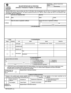 2012-2017 Form FAA 337 Fill Online, Printable, Fillable, Blank ...