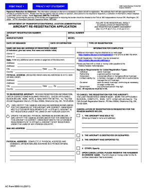 Ac Form 8050 1a 0311 - Fill Online, Printable, Fillable, Blank ...