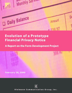 A Report on the Form Development Project - ftc