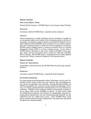 Thesis Keywords - Fill Online, Printable, Fillable, Blank | PDFfiller