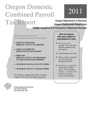 Form Oa Domestic Oregon - Fill Online, Printable, Fillable, Blank ...