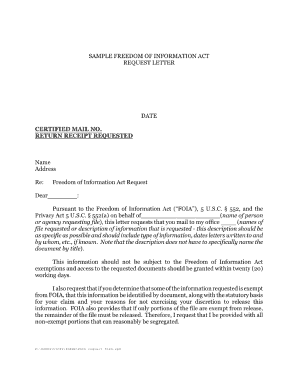 foia sample request letter delaware form