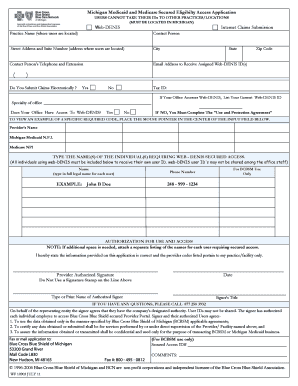 dhs application online mi