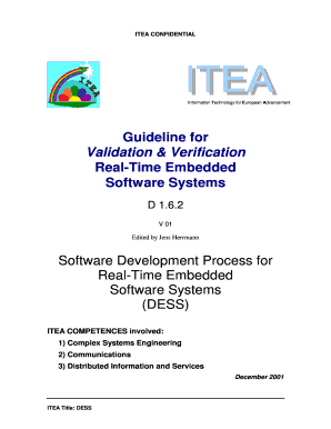 Printable system design process in software engineering