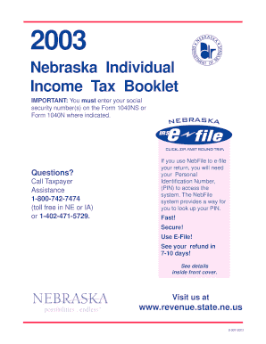 fillable nebraska 1040n form