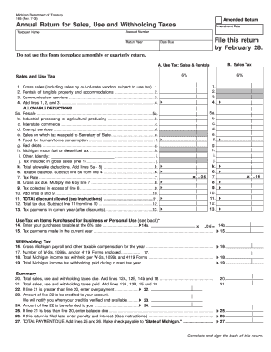 Michigan Form 165 Fillable - Fill Online, Printable, Fillable ...
