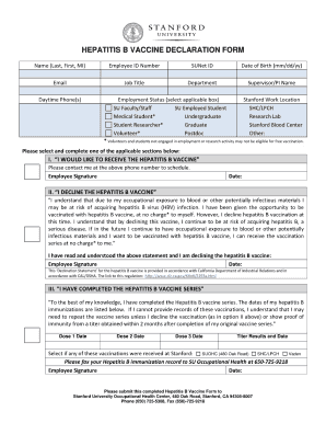 immunization record hep b form