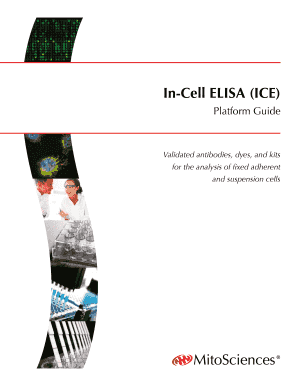 in cell elisa ice platform guide mitoscience