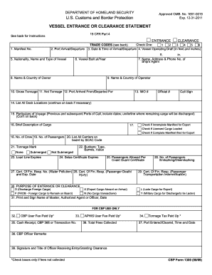 Fillable Cbp Form 1300 - Fill Online, Printable, Fillable, Blank ...