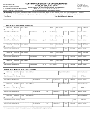 2005-2018 Form EPSQ SF86 Fill Online, Printable, Fillable, Blank ...