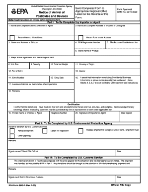 Epa Form 3540 Rev 2 00 - Fill Online, Printable, Fillable, Blank ...