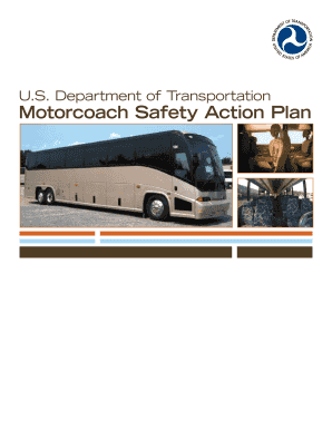 motorcoach safety action plan form