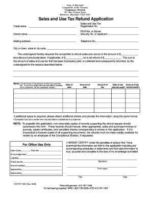 maryland sales and use tax gsa form Fill Online, Printable