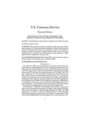 Fillable Us Customs Declaration Form - Fill Online, Printable ...