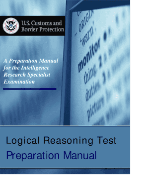 logical reasoning border patrol exam