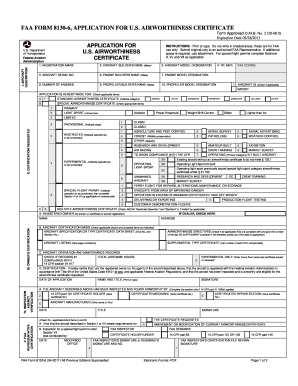 Faa Form 8130 6 Download