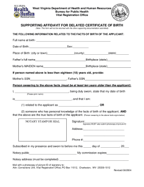 Bill Of Sale Form West Virginia Vital Statistics Form Templates