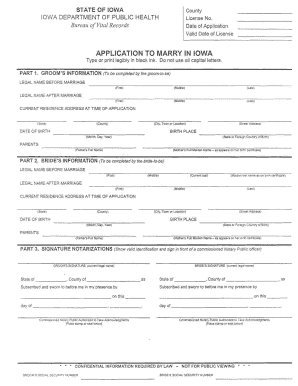 application to marry in iowa ringgold county form