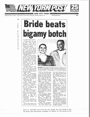 Bride Beats Bigamy Botch . - Law Office of Allan R. Pearlman