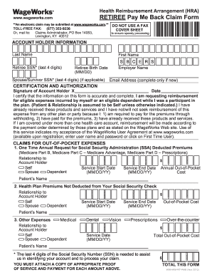Retiree Pay Me Back Claim Form - Fill Online, Printable, Fillable ...