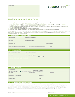 blue cross blue shield reimbursement forms Templates - Fillable ...