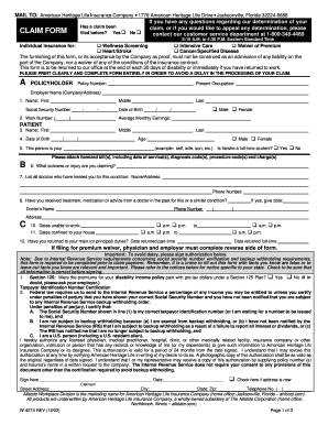 Allstate Appeal Printable Form - Fill Online, Printable, Fillable ...