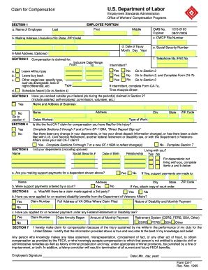 army dol form