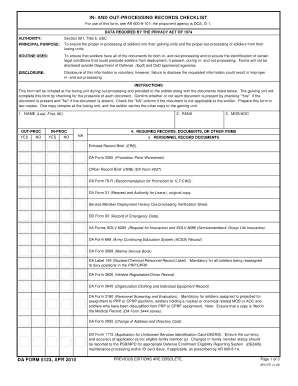 army da forms Templates - Fillable & Printable Samples for PDF ...