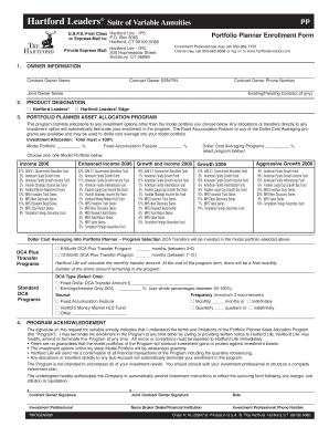Hartford Annuity Login >> Hartford Leaders Variable Annuity Forms Fill Online