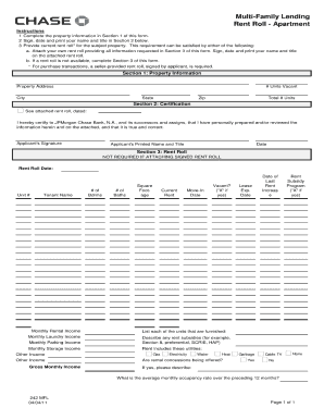 Rent Roll Form Eastern Bank