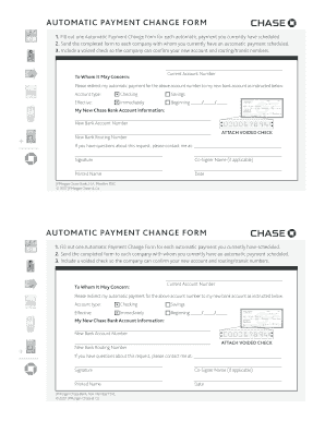 Direct Deposit Change Form Chase - Fill Online, Printable ...