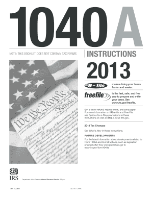 2011 form irs 1040a instructions fill online printable for 1040a tax table 2013 pdf