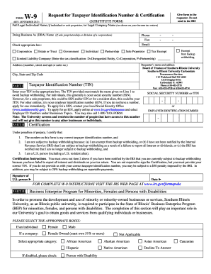 Online W 9 Form Fill And Print - Fill Online, Printable, Fillable ...