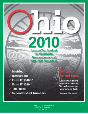 It 1040 Ohio Form Fillable - Fill Online, Printable, Fillable ...