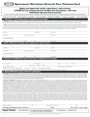 printable credit card application form templates fillable