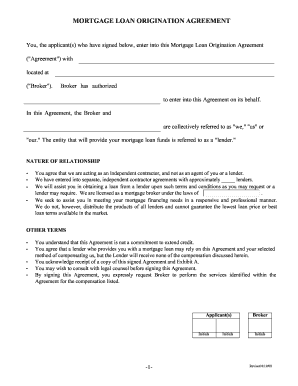 20 Printable Second Mortgage Loan Agreement Forms And Templates