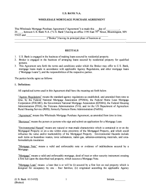 Commercial mortgage broker agreement form