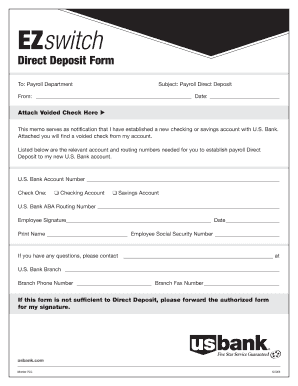 image about Us Bank Deposit Slip Printable named Us Financial institution Sorts - Fill On the web, Printable, Fillable, Blank
