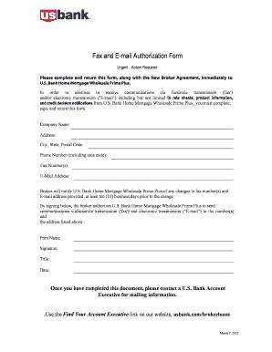 us bank authorization form