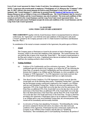 Us bank non solicitation agreement fill online printable us bank non solicitation agreement platinumwayz