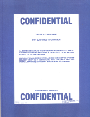 Standard Form 708 Confidential - Fill Online, Printable, Fillable ...