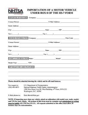 Hs7 Form Fillable - Fill Online, Printable, Fillable, Blank ...
