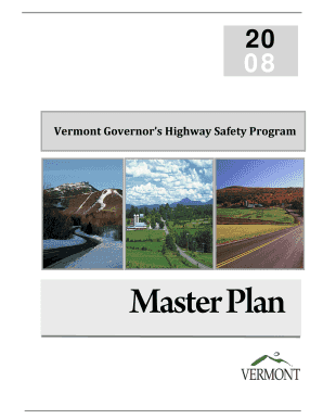 vermont governors highway safety program form